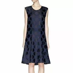 Rag & Bone  Pierre Silk Polka Dot A-Line Dress